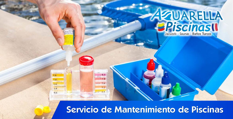 servicio de mantenimiento de piscinas